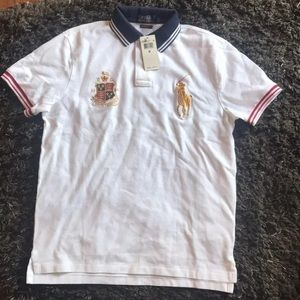 Brand new polo shirt men's medium